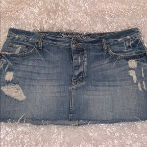 American Eagle Jean Mini-Skirt